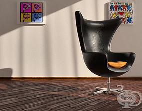 Armchair 3 3D