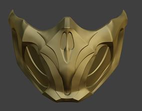Scorpion mask from Mortal Kombat 11 MK 3D print model