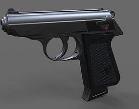 Walther PPK 3D asset