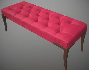 interior 3D Thomas Pheasant Baker bench Collection