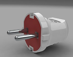 Electric plug mk 1 3D