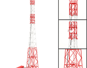 Communication Tower 02 3D