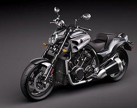 3D model Yamaha Star V-Max 2009