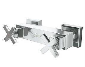 3D Gro Welle Dusches 741 mixer faucet