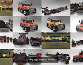 car garage assest 3D model