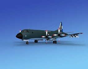 3D model Lockheed P-3 Orion Argentina