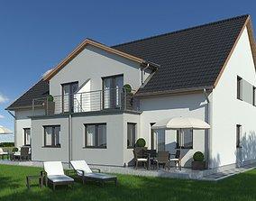 Family House 015 3D model