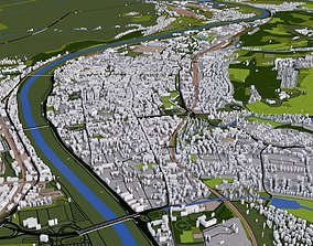3D asset Luxembourg City