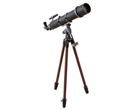 telescope Telescope 3D asset realtime