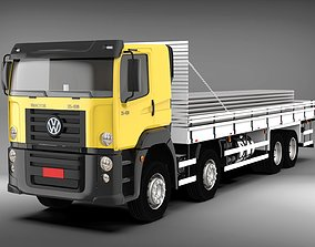Volkswagen Constellation trailer 3D model
