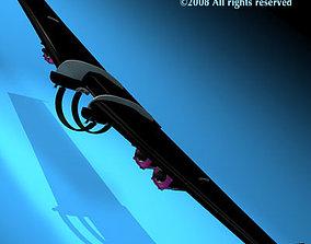 3D model Jetman wings