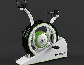 3D model Stationary One Bike