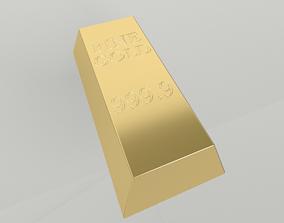 3D model Bullion 001