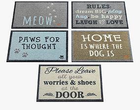 Doormat Rugs 155 3D