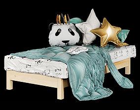 Kids bed 01 3D