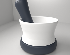 3D Ceramic with Silicon Mortar and Pestle 7