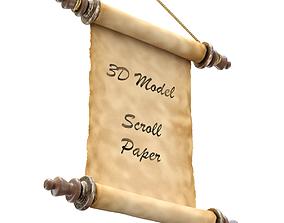 3D model Old Scroll