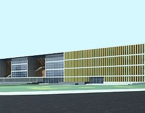 apartment 3D model Office Building