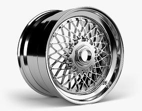 BBS E55 Wheel 3D