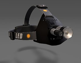 Headlight with camera 3D model