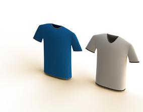 3D asset Tshirt set