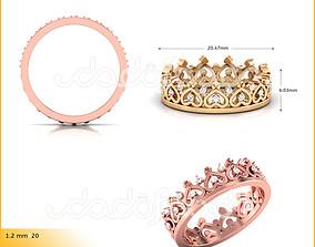 3D printable model Ring 154