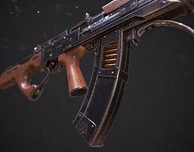 3D asset Bulldog gun