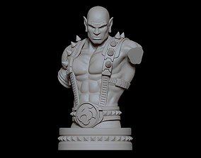 3D printable model Fanart THUNDERCATS Panthro - Bust