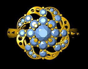 Ring 18K rings 3D print model