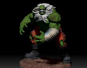 statue 3D print model hulk Maestro