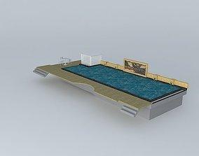 3D model Pool Resort