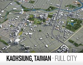 3D asset Kaohsiung Taiwan - city and surroundings