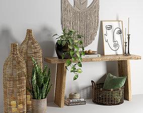 3D vase Decor set