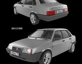 3D Car VAZ 21099