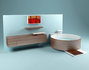 Washstand Opera Set 3D model