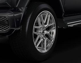 Brabus G 65 W464 2019 wheel 3D model