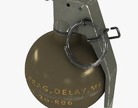 M67 Hand Grenade 3D asset