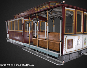 San Francisco Classic Cable Car Railway Videogame realtime