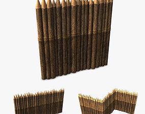 Stockade 3D model