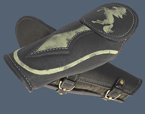 leather armor 3D asset
