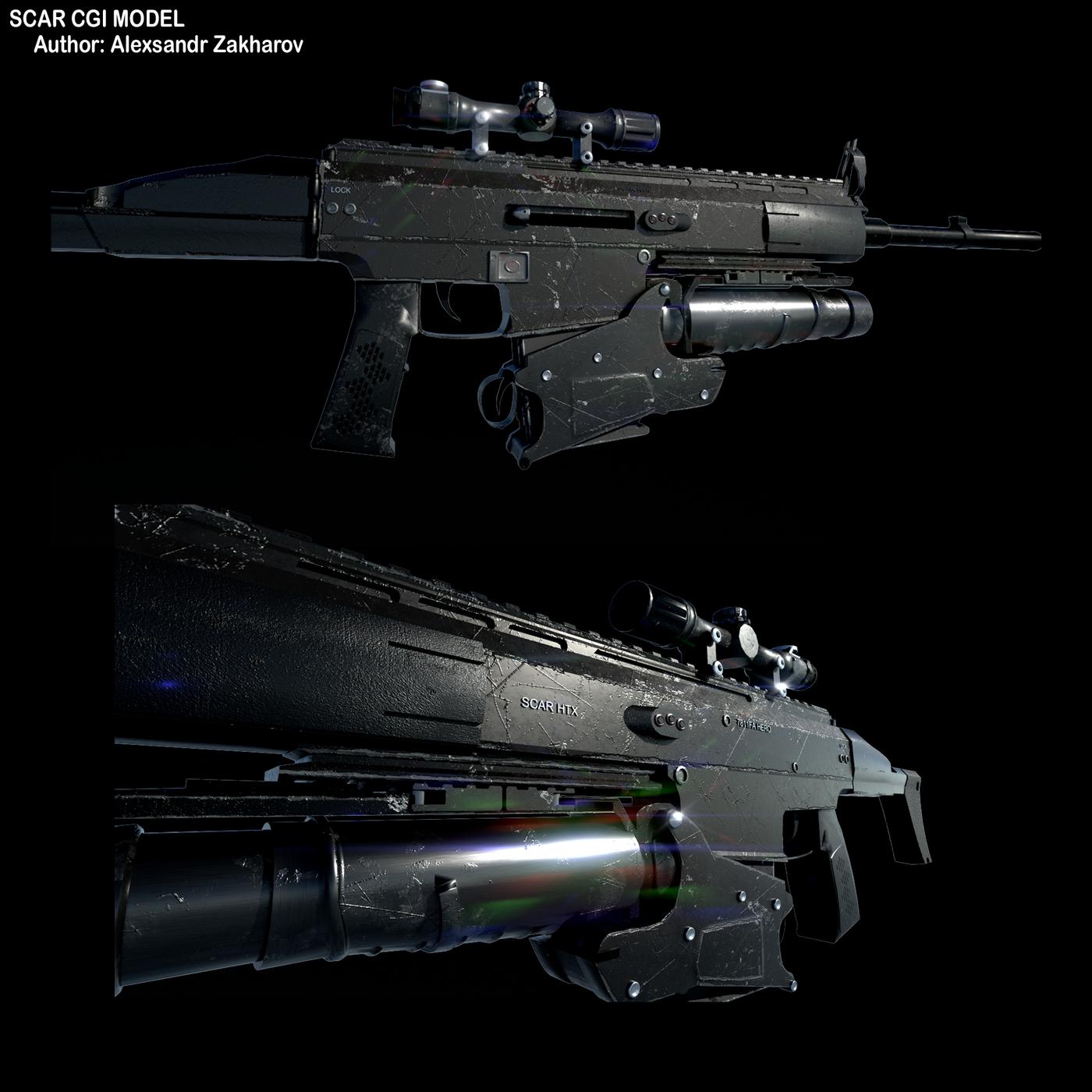 CGI 3D models by: Alexsandr Zakharov