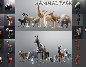 low-poly wild nature 3d lowpoly animal