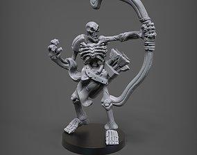 3D printable model Skeleton Archer