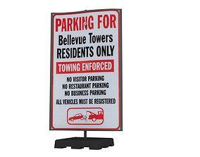 Street Sign 05 3D asset