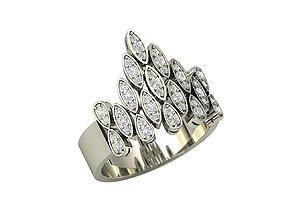 3D printable model Diamond sparkles ring