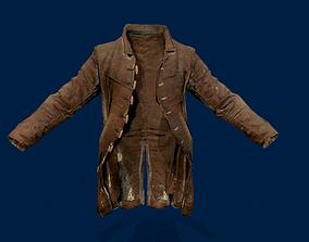 Cowboy coat 3D asset