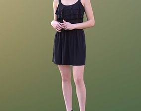 3D model Laura 10444 - Standing Elegant Woman