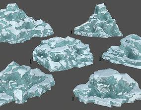 ice set 3 3D asset