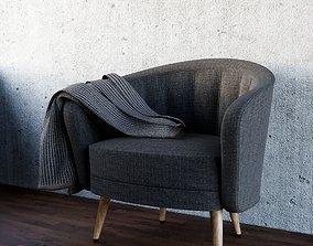 Armchair Family for Revit armchair 3D