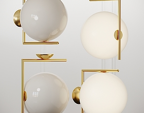 3D IC Wall Ceiling Light By Michael Anastassiades from